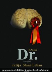 Plakat (ki je tudi osnova gledališkega lista) je oblikoval Branko Drekonja